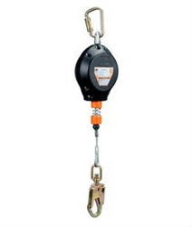 thunderbolt retractable lifeline rld series cable retract harness land