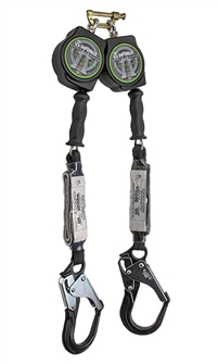 10 u2019 dual leg cable retractable w   alum  rebar hooks
